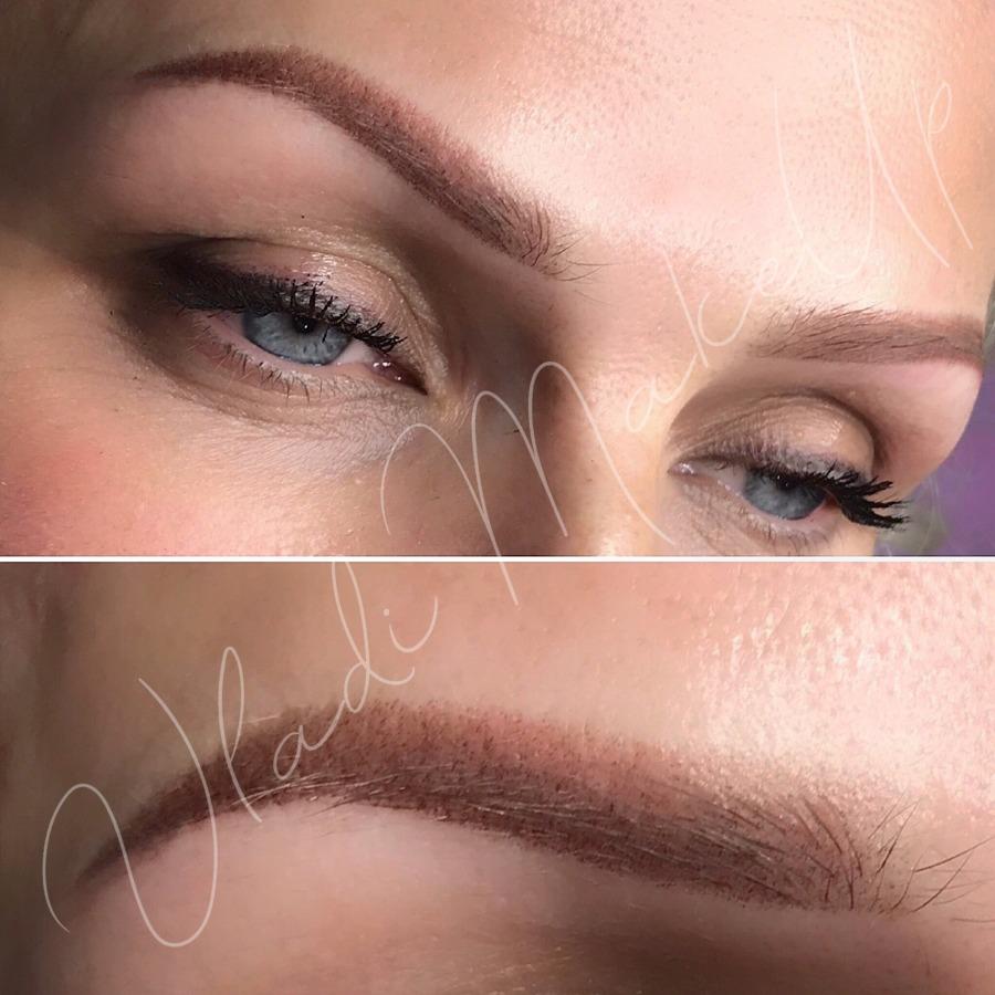 Перманентный макияж, брови, цена